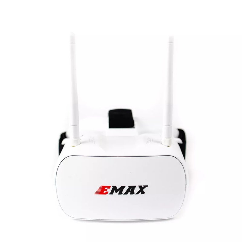 Emax Tinyhawk 5.8G 48CH Diversity FPV Goggles 4.3 Inches 480*320 Video Headset With Dual Antennas 4.2V 1800mAh Battery For RC Drone 5.8G