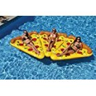Emorefun 6 Foot By 5 Foot Giant Inflatable Pizza Slice Float