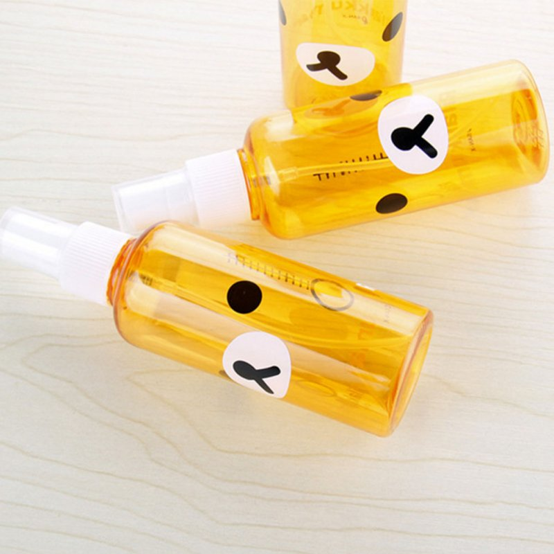 Empty Spray Bottles Cartoon Mini Refillable Container Empty Cosmetic Containers 30ml