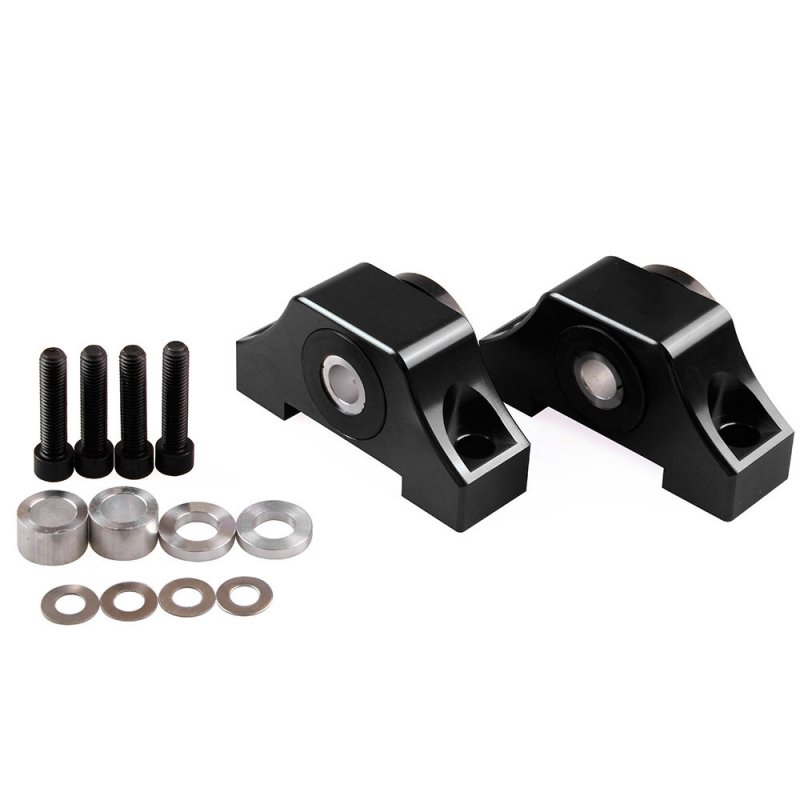Engine Motor Torque Mount Kit B-series/D-series for 92-01 Honda Civic D15 D16 B16 B18 B20 black