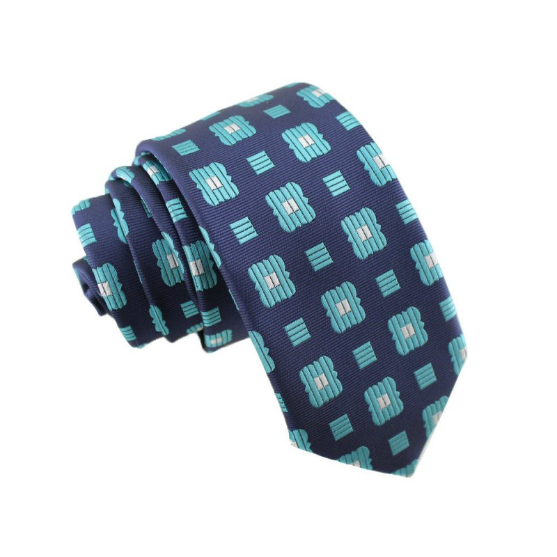 England Style Male Dot Casual Neck Tie Narrow Model 6CM Cotton Tie  27