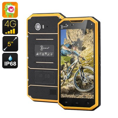 KEN XIN DA W7 Rugged Smartphone (Yellow)