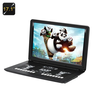 17 1 Inch Portable Dvd Player