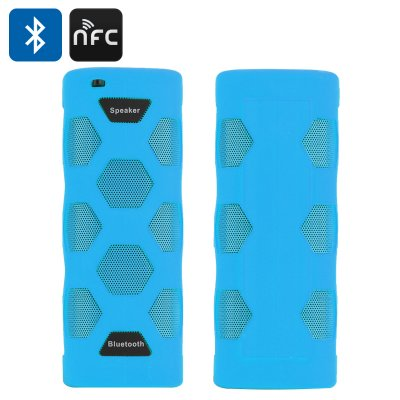 Portable Bluetooth 4.0 Stereo Speaker (Blue)
