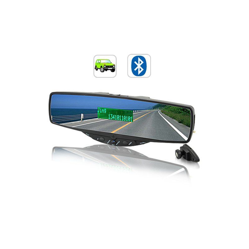 Bluetooth Rearview Car Mirror