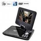 Enjoy your favorite DVDs on the go with this 7 Inch Widescreen Portable DVD Player with Copy Function