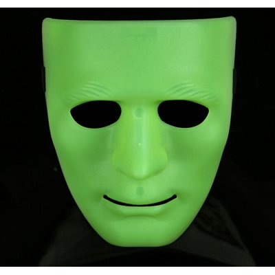 Estone Full Face Plastic Plain Mask