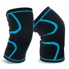 Evaric Stylish Elastic Knee Cap Improved Circulation Compression Arthritis Relief Effective Support for Exercise, Medical Recovery, Sport, Dancing