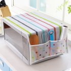 Exquisite Microwave Oven Cover with 2 Pockets Waterproof Greaseproof Oven CoverVNDC