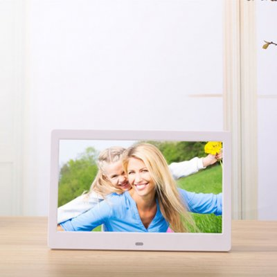 10.1 Inch  Digital Photo Frame White EU Plug
