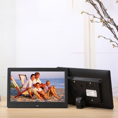 10.1 Inch  Digital Photo Frame Black EU Plug