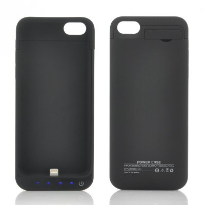 External Battery Case for iPhone 5/5C/5S (B)
