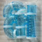 External Connection Tunnel Track Tube Toy for Hamster Sports blue_Caliber 5.5