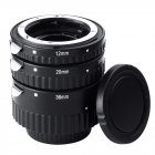Extnp Auto Focus Macro Extension Tube Set for Nikon AF AF S DX FX SLR Cameras  Nikon adapter ring