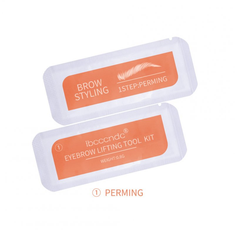 Eyebrow Styling Agent Disposable Eyebrow Styling Agent Quickly Stereo Perming Eyebrow Sets Eyebrow perm agent