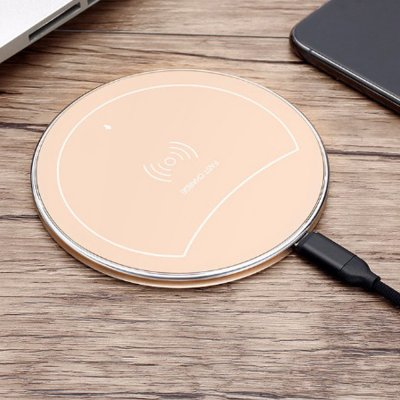 F10 Ultrathin Wireless Charger Pad Gold