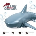 F151 2.4G Bionic Remote Control Shark Model Waterproof Toy for Kids Adults blue