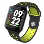 F8 Bluetooth <span style='color:#F7840C'>Smart</span> <span style='color:#F7840C'>Watch</span> Heart Rate Monitor Calories Fitness Tracker Alarm Clock IP67 Waterproof Sports <span style='color:#F7840C'>Smart</span> Bracelet green