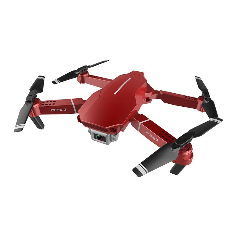 F98 Drone Hd Wide Angle 4k Wifi 1080p Fpv Video Live Recording Quadcopter 20 Mins Flight Time Height to Maintain Drone Camera Toys red_720P