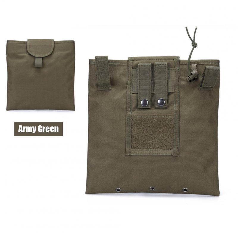FGJ Molle Recycling Storage Bag Outdoor Multifunctional Package Magazine Dump Pouch ArmyGreen_23cm*29cm