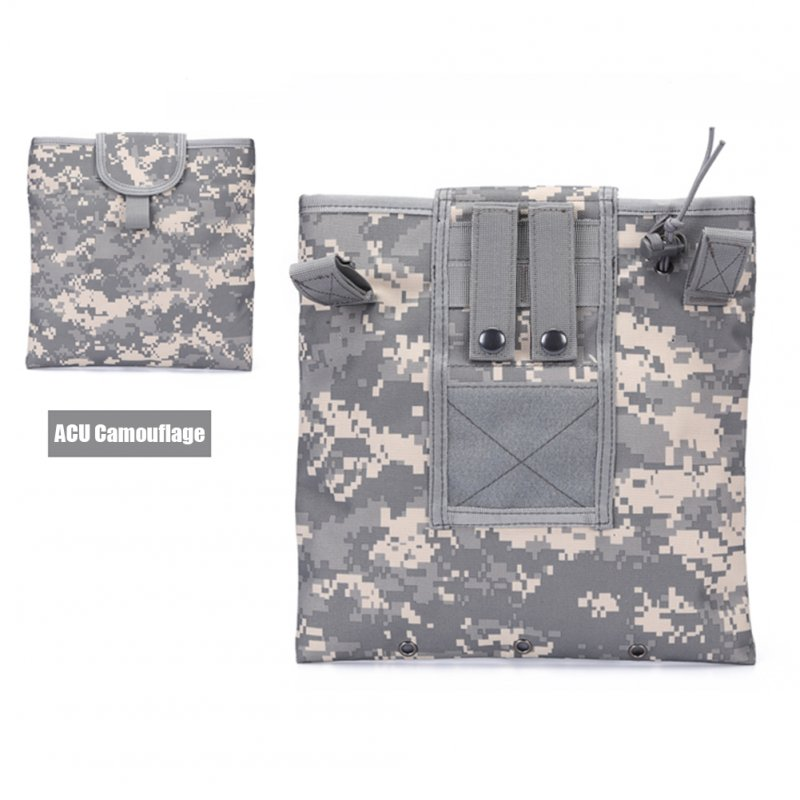 FGJ Molle Recycling Storage Bag Outdoor Multifunctional Package Magazine Dump Pouch ACU camouflage_23cm*29cm