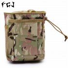 FGJ Molle Small Recycling Storage Bag Outdoor Multifunctional Package CP camouflage_16cm*8cm*20cm