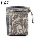 FGJ Molle Small Recycling Storage Bag Outdoor Multifunctional Package