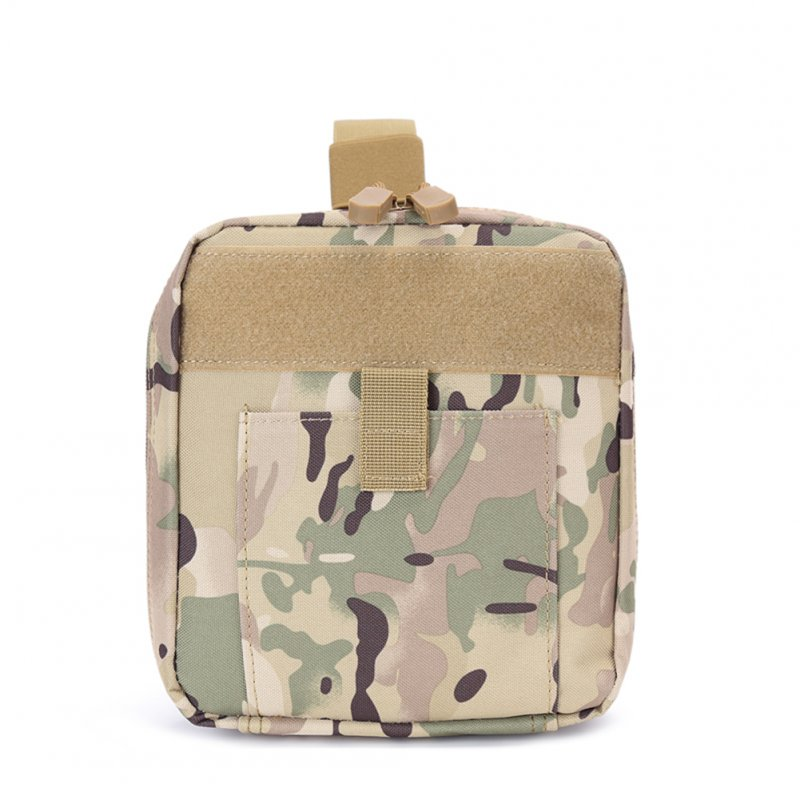 FGJ Outdoor Molle Medical First Aid Bag Multifunctional Emergency Bag Camping Bag CP camouflage_One size