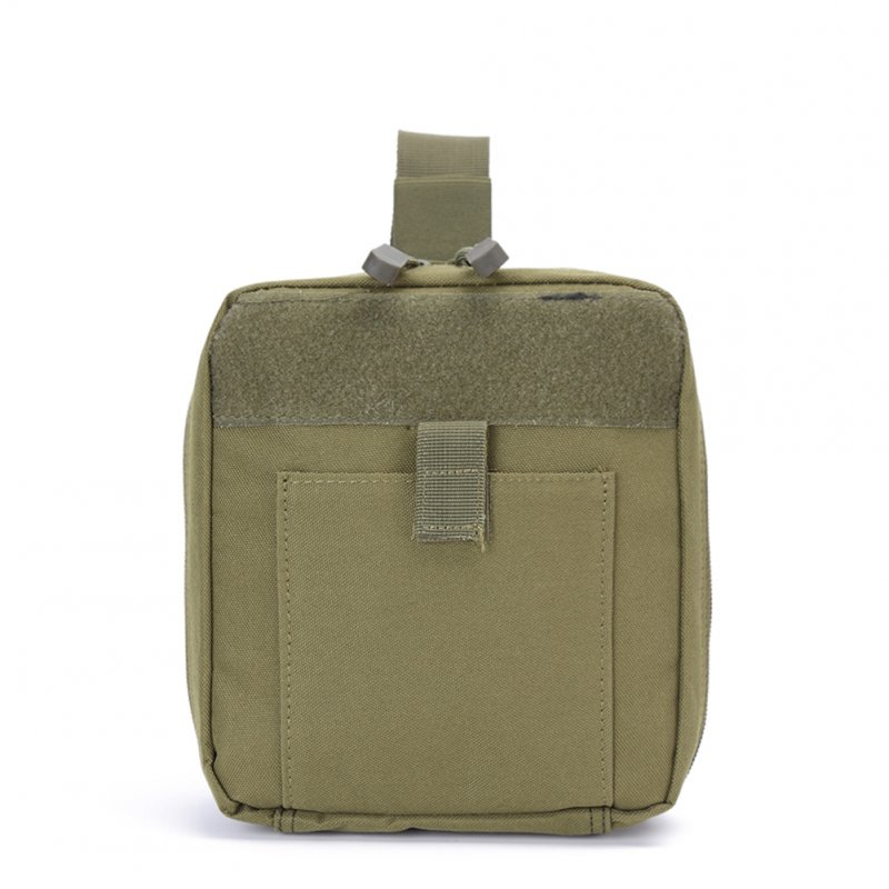 FGJ Outdoor Molle Medical First Aid Bag Multifunctional Emergency Bag Camping Bag ArmyGreen_One size