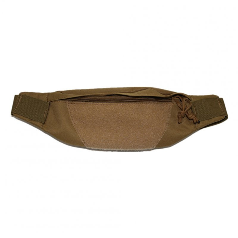 FGJ Waist Pack Belt Outdoor Running Hiking Climbing Bag Belt 600D Wear-Resistant Nylon Fabric khaki_None