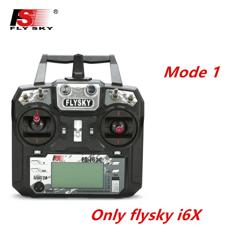 FLYSKY FS-i6X FS i6X 2.4GHz 10CH AFHDS 2A RC Transmitter X6B iA6B A8S iA10B iA6 Fli14+ Receiver for RC FPV Racing Drone Right hand single control