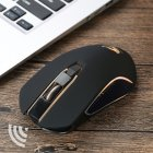 FREE WOLF X9 Wireless 1600DPI Mouse Black