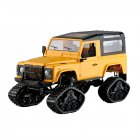 FY003 2.4G 4WD Off-Road Snowfield Wifi Control Metal Frame RC Car Without camera yellow_1:16