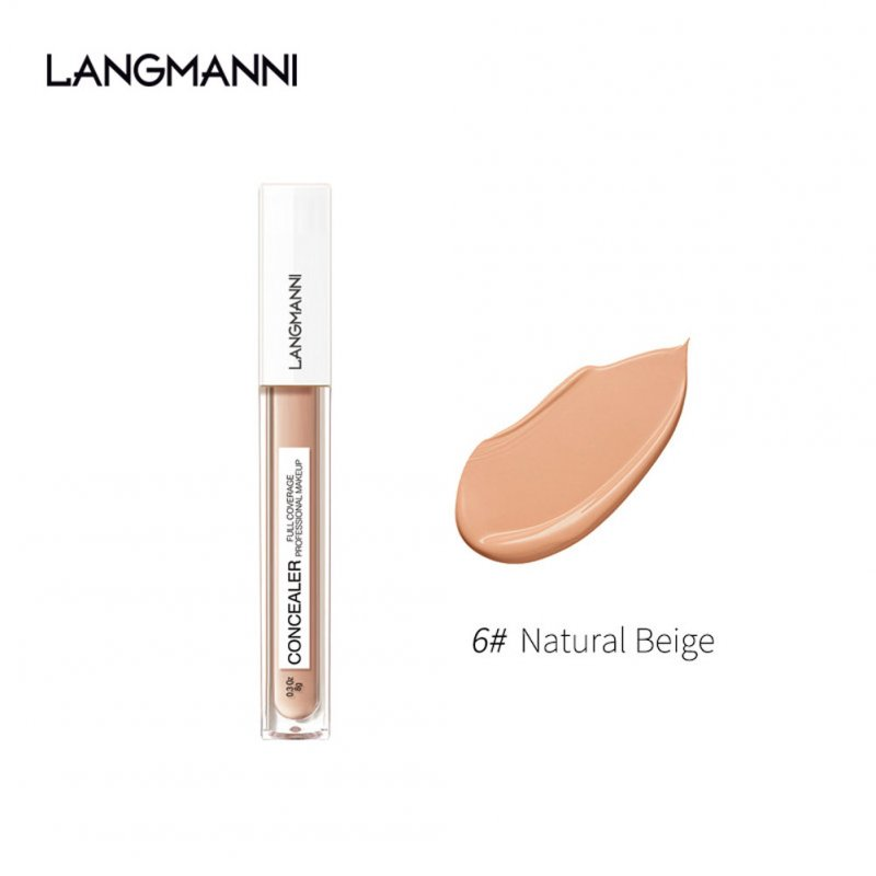 Face Concealer Cream Liquid Facial Foundation Waterproof Control Oil Makeup for Cover Acne Pore Dark Circles 6