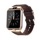 Fashion Bluetooth Smart Watch with SIM and Memory Card Support for Android & iOS Devices  Golden