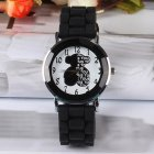 Fashion Classic Silicone Women Watch Simple Style Wrist Watch Silicone Rubber Casual Watch
