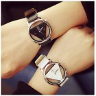 Hollow Triangle Quartz Wristwatch Lovers