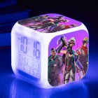 Fashion Cool Color Changing Night Light Alarm Clock Kids Toy Gift