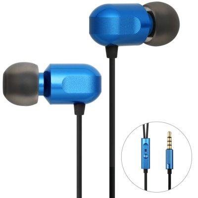 GGMM Stereo Noise Cancelling Blue Headset