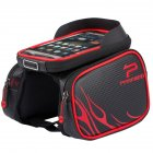 Fashion Mountain Bike Waterproof Saddle Bag Touch Screen Mobile Phone Bag