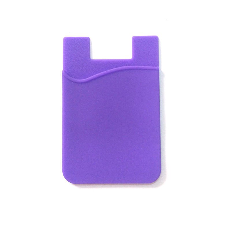 Silicone Card Money Case for Cell Phone