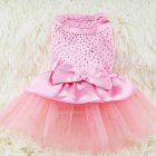 Spring Summer Dog Tutu Princess Fluffy Dress
