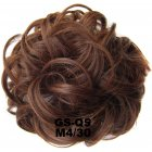 Fashion Synthetic Women Hair Pony Tail Hair Extension Bun Hairpiece Scrunchie Elastic Wedding Wave Curly  M4/30