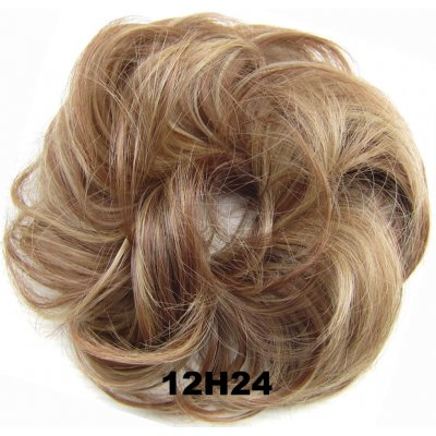 Fashion Synthetic Women Hair Pony Tail Hair Extension Bun Hairpiece Scrunchie Elastic Wedding Wave Curly  12H24