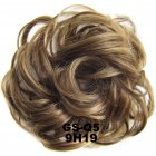 Fashion Synthetic Women Hair Pony Tail Hair Extension Bun Hairpiece Scrunchie Elastic Wedding Wave Curly  9H19