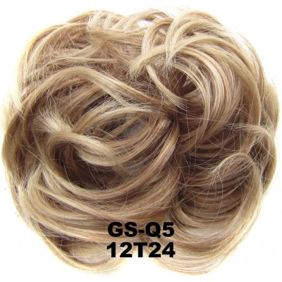 Fashion Synthetic Women Hair Pony Tail Hair Extension Bun Hairpiece Scrunchie Elastic Wedding Wave Curly  12T24