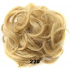 Fashion Synthetic Women Hair Pony Tail Hair Extension Bun Hairpiece Scrunchie Elastic Wedding Wave Curly  22
