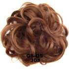 Fashion Synthetic Women Hair Pony Tail Hair Extension Bun Hairpiece Scrunchie Elastic Wedding Wave Curly  30#