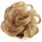 Fashion Synthetic Women Hair Pony Tail Hair Extension Bun Hairpiece Scrunchie Elastic Wedding Wave Curly  J26