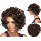 Fashion Wigs for Women Short Afro Curly Wigs for Women Party Wig